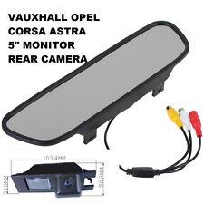 """vauxhall opel 5"""" Corsa Astra insignia Vectra meriva Rear Reversing camera kit 05"""