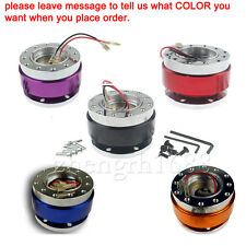 Universal  Steering Wheel Quick Release Hub Adapter Snap Off Boss Kit multi colo