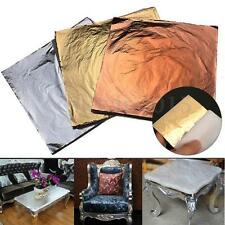 300 sheets 14x14cm Imitation Gold+Silver+Copper Leaf Gilding Art Craft DIY