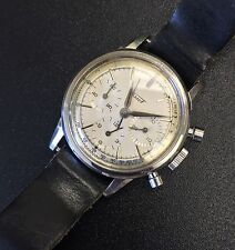 Vintage Tissot Chronograph Daytona Newman Three Register Lemania CH 27 1280
