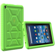 Turtle Skin Rugged Silicone Gel Case For Amazon Kindle Fire 7 (2015 Model)