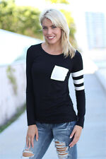 Fashion Women's Casual Loose Tops Cute Blouse Long Sleeve T-shirt Tee Summer
