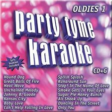 Party Tyme Karaoke: Oldies by Sybersound CD Sybersound Elvis, Dion, The Supremes