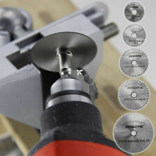 7 HSS Circular Cutting Wood Saw Blade Disc Mandrels electric grinder Rotary Tool