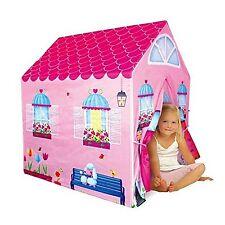 Girls Cottage Playhouse House Kids Secret Garden Indoor Outdoor Pink Play Tent