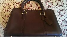 Vintage Coach Beaumont Doctor/Satchel Bag Mocha Brown Leather #9871 Made in USA