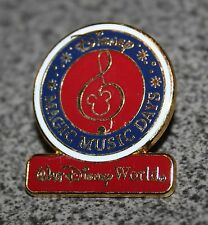 DISNEY PIN MAGIC MUSIC DAYS 2007 WALT DISNEY WORLD Given to participants