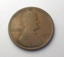 1911-D Lincoln Wheat Penny Good+ One Cent Coin