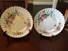 "SET OF (2) ROYAL DOULTON FINE BONE CHINA ""ARCADIA"" DINNER PLATES NICE"