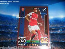 Topps Champions League 2015/2016-Limited Edition - Mesut Ozil bronze LE6