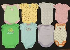 Baby Girl's Lots Of Eight Onesie Size 6-9 Months EUC