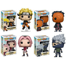 Funko POP! Animation - Naruto Series 2 - Vinyl Figures -SET OF 4 (Naruto, Tobi+2