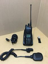 Fire Motorola XTS3000 3 UHF P25 Digital Police radio W/ Programming Security