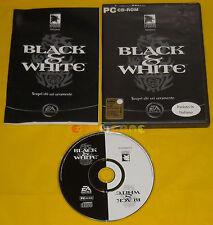 BLACK & WHITE 1 Pc Versione Ufficiale Italiana ••••• COMPLETO