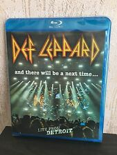 Def Leppard And There Will Be A Next Time Live From Detroit Blu-Ray Disc