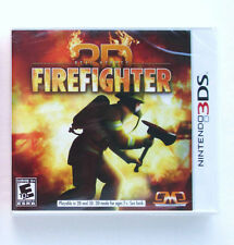 Real Heroes Firefighter 3D  Nintendo 3DS game  NEW D1