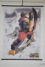 "Oficial Super Street Fighter IV-desplazamiento de pared-cartel de tela-Tamaño: 31"" - 44"""