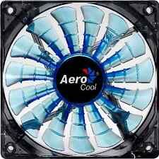 Aerocool Shark 140mm x 25mm Fan (3-Pin, Fluid, Blue)