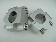 """FAT BAR CONVERTERS, CONVERTS FROM 7/8"""" BARS TO USE FAT BARS, FAT BAR CLAMPS"""