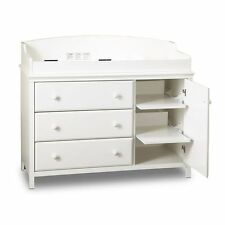 South Shore Furniture 3250333 Cotton Candy Dresser with Removable Changing Stati