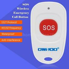 OWSOO SOS Wireless Emergency Call Button Home Security Alarm System defence H1O3