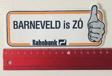 Aufkleber/Sticker: Rabobank - Barneveld Is ZÓ (10061647)