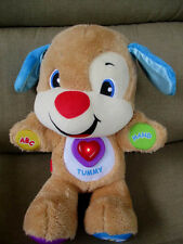 2014 Fisher Price Laugh & Learn Smart Stages Puppy, Interactive Talking Dog 12""