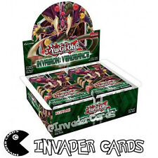YuGiOh Invasion Vengeance INOV 1st Edition Booster Box Konami New Sealed Boxed