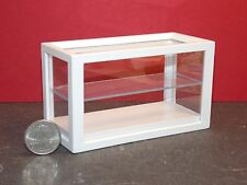 Dollhouse Miniature White Store Shop Display Case 1:12 one inch scale D14