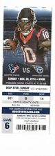 2014 HOUSTON TEXANS VS TENNESSEE TITANS TICKET STUB 11/30/14