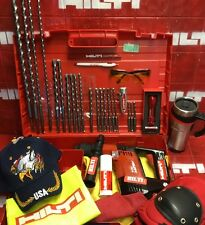 HILTI TE 5 HAMMER DRILL, L@@K, FREE HILTI COFFE MUG, LOADED BITS, FAST SHIP