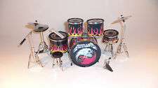 RGM306 Lars Ulrich Metallica   Miniature Drum kit