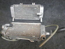 Honda CR500AF conversion Used modified left + right radiator set CR3550