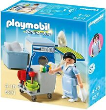 Playmobil 5271 Summer Fun Hotel Housekeeping Service maid cleaning NEW BOXED