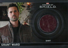 Marvel Agents of SHIELD Season 2 Costume Card CC4 Brett Dalton Grant Ward #386