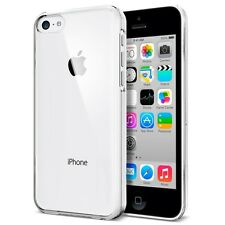 Case For iPhone 5C Ultra Thin Crystal Clear Hard Back Cover + 2 Screen Protector