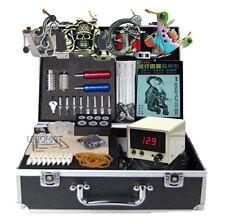New tattoo equipment complete 4 machine guns tattoos Kits