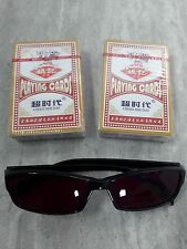 Marked Poker Playing Cards and Special Glasses