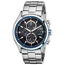 Citizen Men's CA0431-51E HTM 2.0 Eco-Drive Stainless Steel Chronograph Watch