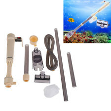 Gravel Cleaner Aquarium Fish Tank Siphon Vacuum Water Change Powered By Battery