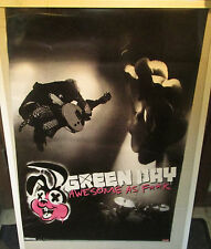 GREEN DAY POSTER LIVE NEW NEVER 2011 VINTAGE AWESOME AS F##K