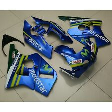 Blue Castrol ABS Fairing Bodywork Kit For Honda CBR400RR CBR 400 RR NC23 88 89