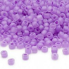 340 Matsuno Dyna-Mites 6/0 #6 Glass Seed Beads With a Matte Color Lined Hole