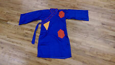 Chinese Lion Dance Monk Robe with multi color patches
