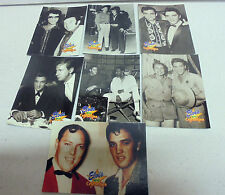 7 xElvis Presley CELEBRITIES-1992 The River Group Elvis Collection Trading Cards