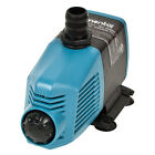 Elemental H2O Submersible/Inline Water Pump 370 GPH - 1 Year Warranty Aquarium