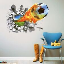 Buy 1 Get 1 Free Wall Stickers Wall Decals Football Wall sticker Deal LC7001