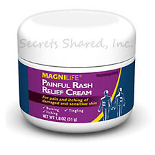 MagniLife Painful Rash Relief Cream 1.8 oz. jar Replaces Shingles Max Unisex