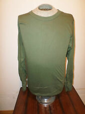 MILITARY STYLE OD GREEN LONG SLEEVE SHIRT SIZE XX-LARGE MADE IN THE U.S.A