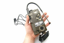 AN/PRC-90 SURVIVAL PILOT FIELD RADIO US ARMY USAF VIETNAM HANDSET WALKIE TALKIE